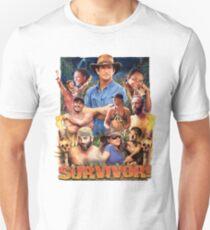 Camiseta ajustada Cartel épico del superviviente