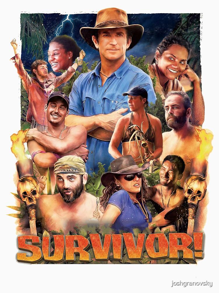 Survivor Epic Poster by joshgranovsky