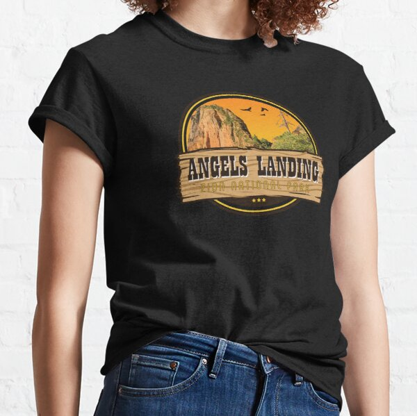 Angels Landing Hike - Utah Classic T-Shirt