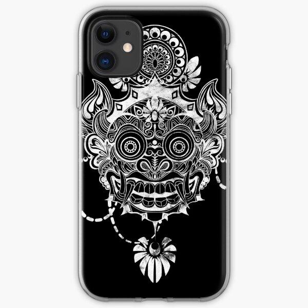 Rangda mask iPhone Soft Case