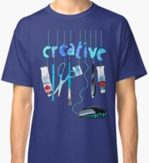 Connected Creative in Blue Classic T-Shirt