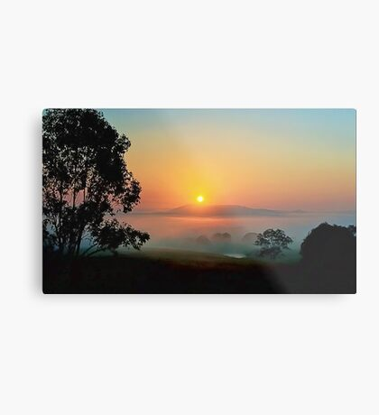 Some days are worth getting out of Bed Early Metal Print