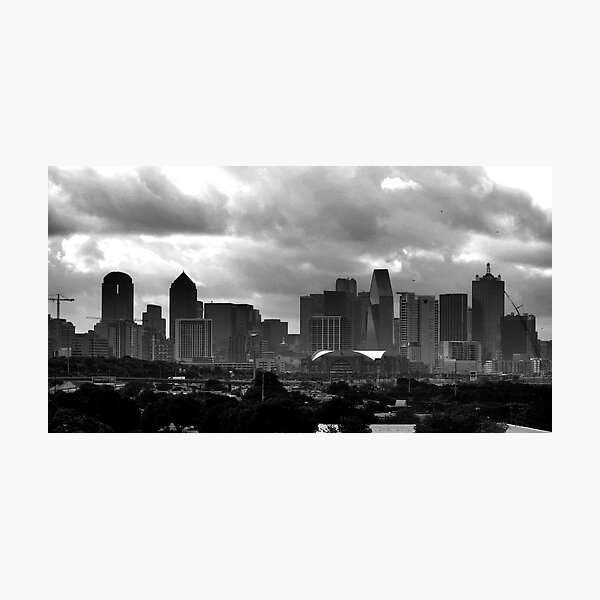 VIEW OF DOWNTOWN DALLAS Photographic Print