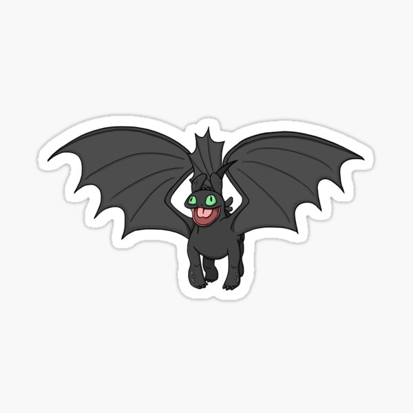 Mating dance toothless 2 Sticker