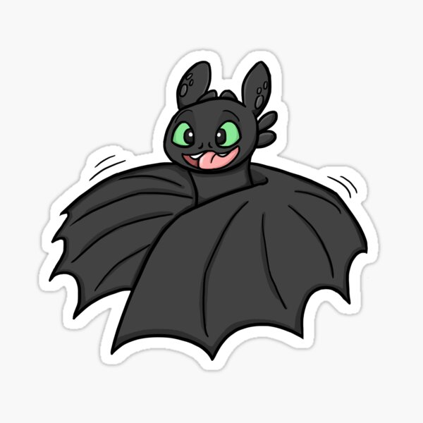 Mating dance toothless! Sticker