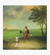 """""""Master Lamb and His Painting Tutor Discoursing on Perspective"""" Photographic Print"""