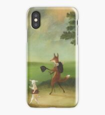 """""""Master Lamb and His Painting Tutor Discoursing on Perspective"""" iPhone Case/Skin"""