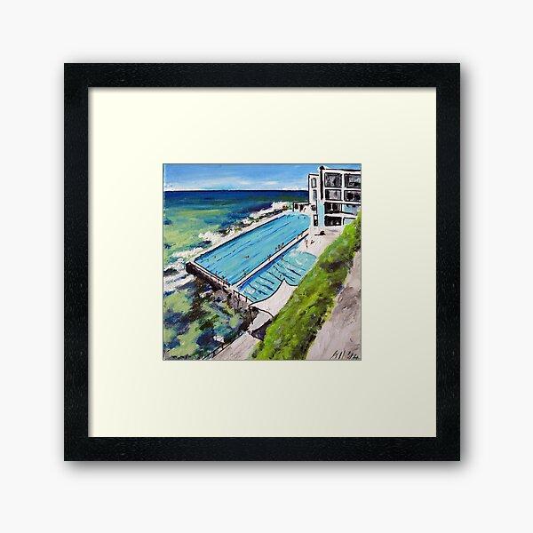 Icebergs-Bondi Framed Art Print