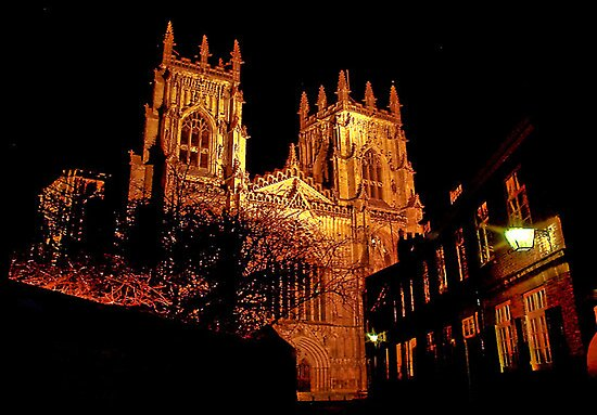 York Minster by Light by Trevor Kersley
