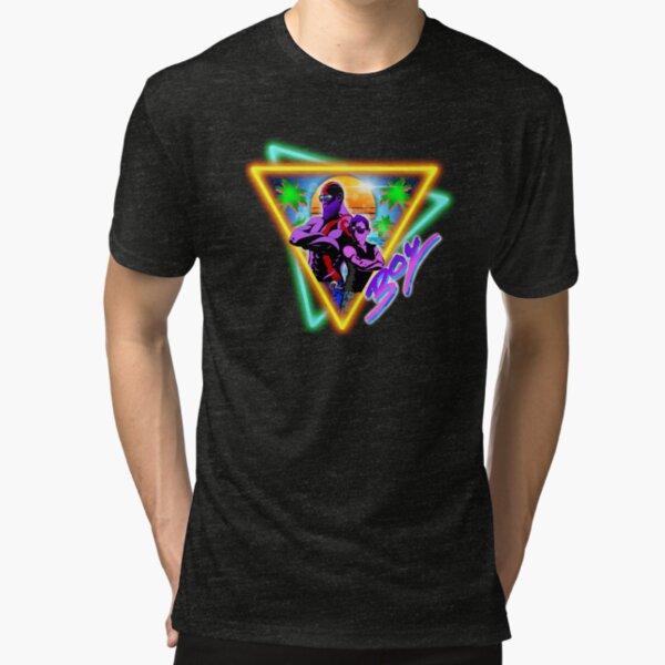 Retrowave God of War Squad Tri-blend T-Shirt