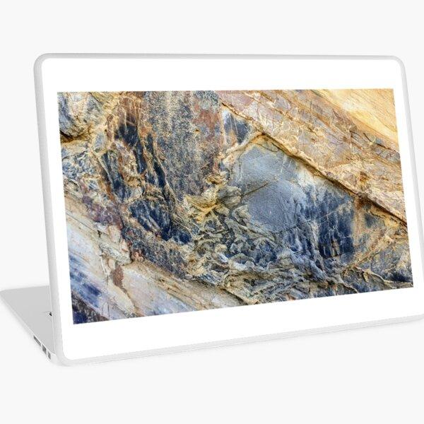 Quarry Beach Mallacoota Cliff Laptop Skin