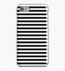 Black and White Simple Stripe iPhone Case/Skin