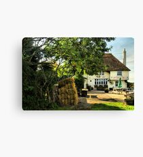 Country Pub Canvas Print