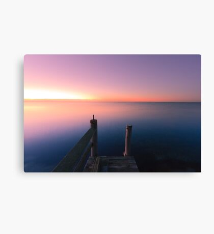 Edge of Nowhere Canvas Print