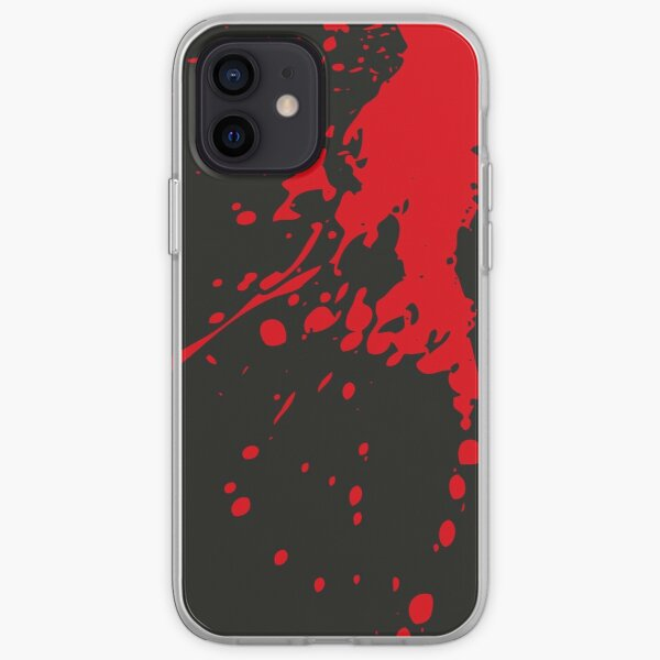 Essendon Bombers Splatter iPhone cover/case  iPhone Soft Case