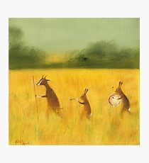 The Strolling Players Photographic Print