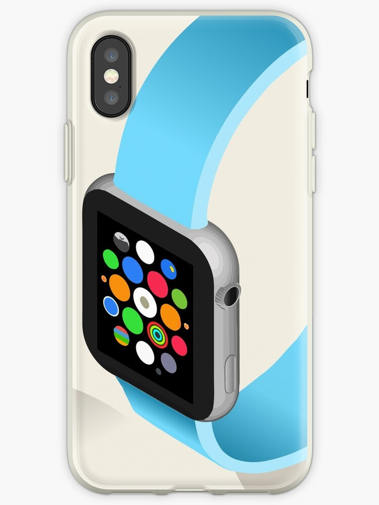 Isometric Smart Watch in Six Colors by aurielaki