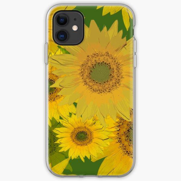 Sunflowers iPhone Soft Case