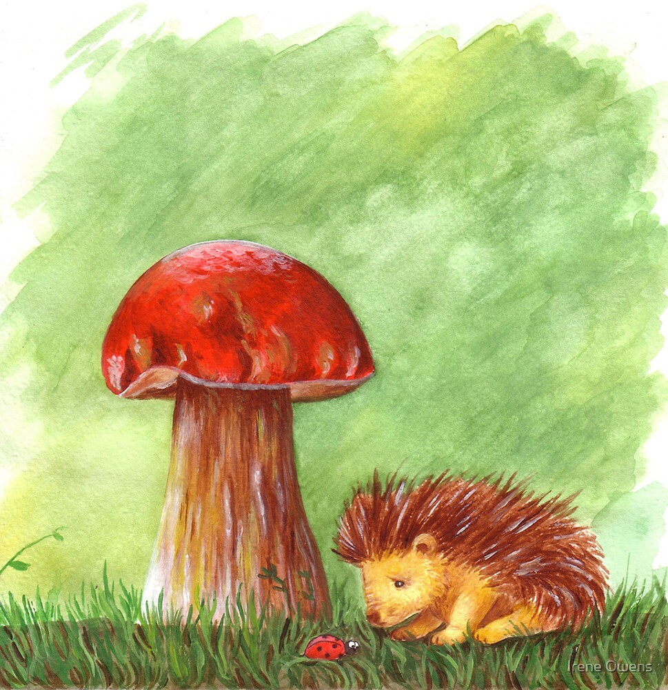 Hilario's defeated by the giant mushroom by Irene Owens