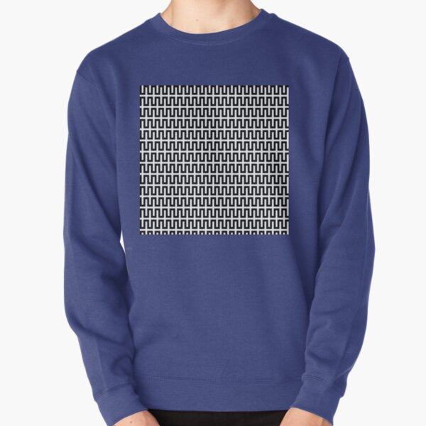 Op art - art movement, short for optical art, is a style of visual art that uses optical illusions Pullover Sweatshirt