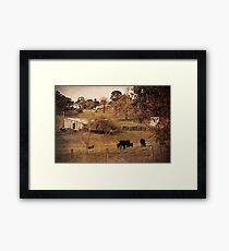 Rural Scene Framed Print