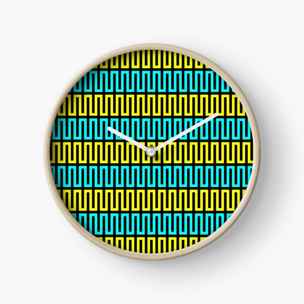 Op art - art movement, short for optical art, is a style of visual art that uses optical illusions Clock