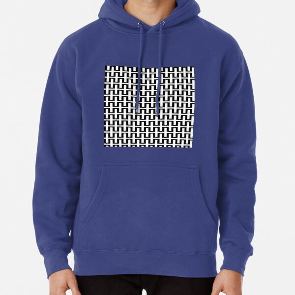 Op art - art movement, short for optical art, is a style of visual art that uses optical illusions Pullover Hoodie