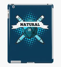 100% Natural iPad Case/Skin