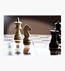Chess time Photographic Print