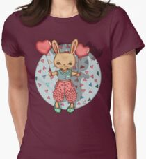 SomeBunny Loves You Womens Fitted T-Shirt