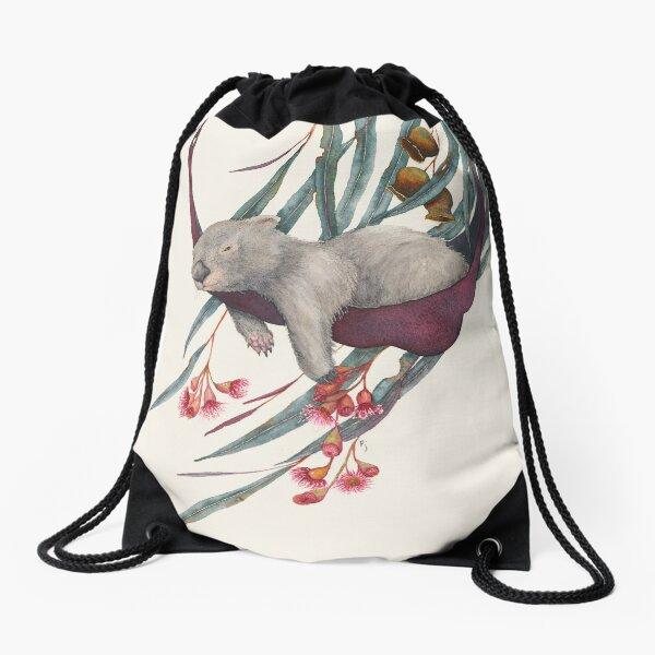 Afternoon Siesta Drawstring Bag