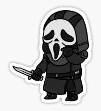 Dead By Daylight - Ghostface - Pop Team Epic Artstyle Sticker