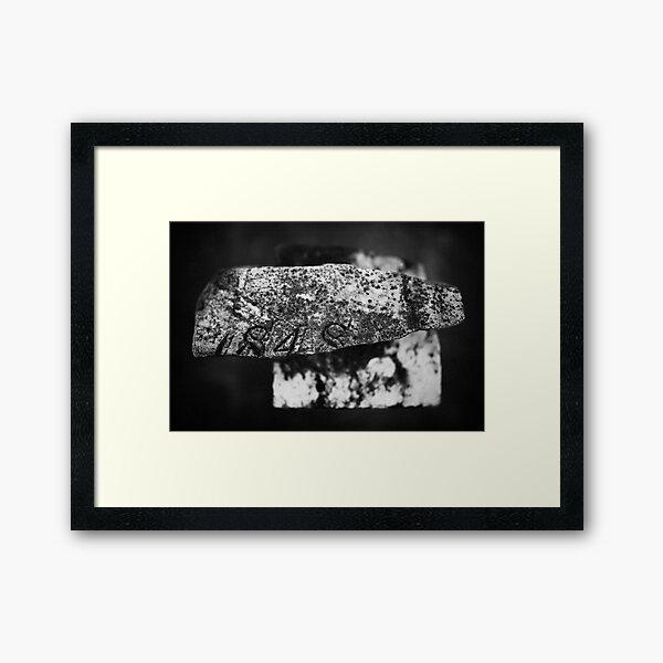 Fragment of the Past Framed Art Print