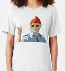 Bill Murray from Life Aquatic Slim Fit T-Shirt