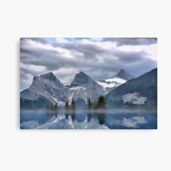 Hermandad - Las Tres Hermanas, Canmore Alberta, Canadá Lienzo