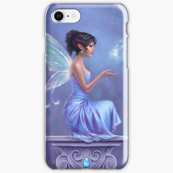 Opalite Fairy with Glowing Butterfly iPhone Snap Case