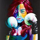 Boxing Queen by emmalovedayart