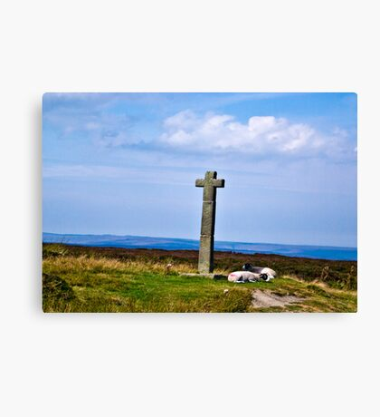 Ralphs Cross - North Yorks Moors Canvas Print