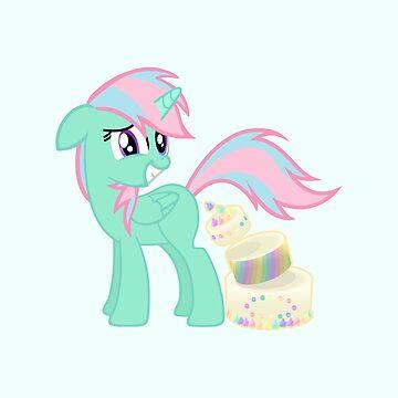 Birthday Pony by Titmoff