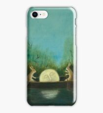 The Dreaming Moon  iPhone Case/Skin