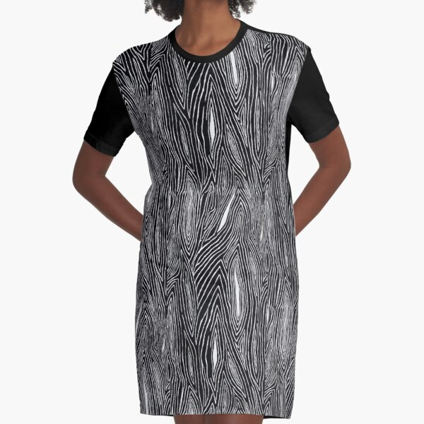 WAVES OF TREE Graphic T-Shirt Dress