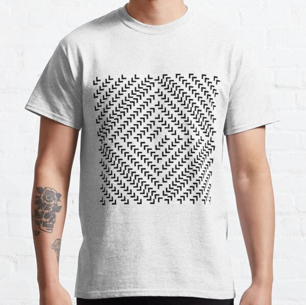 #Parallel #Geometry #Pattern #Art Decoration Ornate Tapestry Colorfulness Classic T-Shirt
