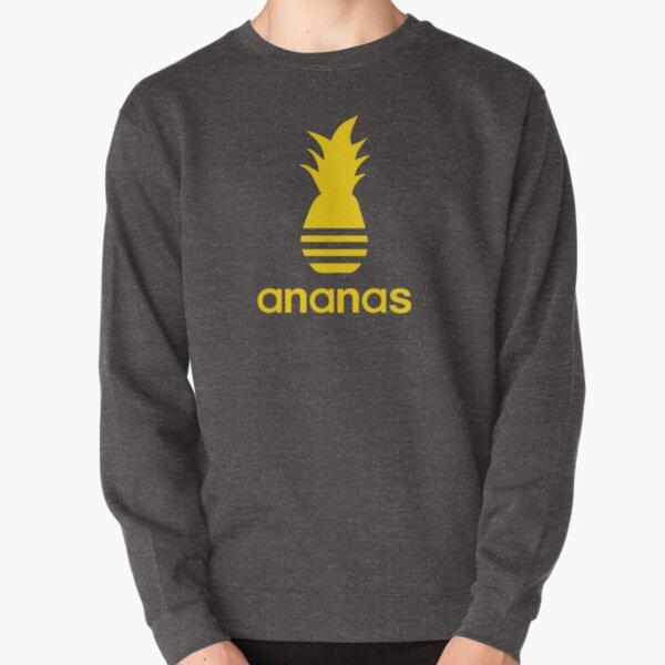 Ananas parody logo in pineapple yellow Pullover Sweatshirt