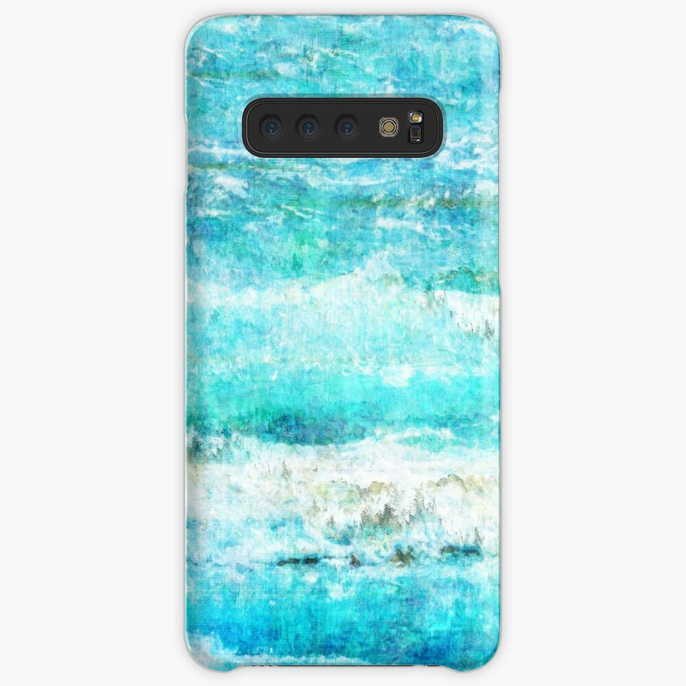 Ask the Waves II Case & Skin for Samsung Galaxy