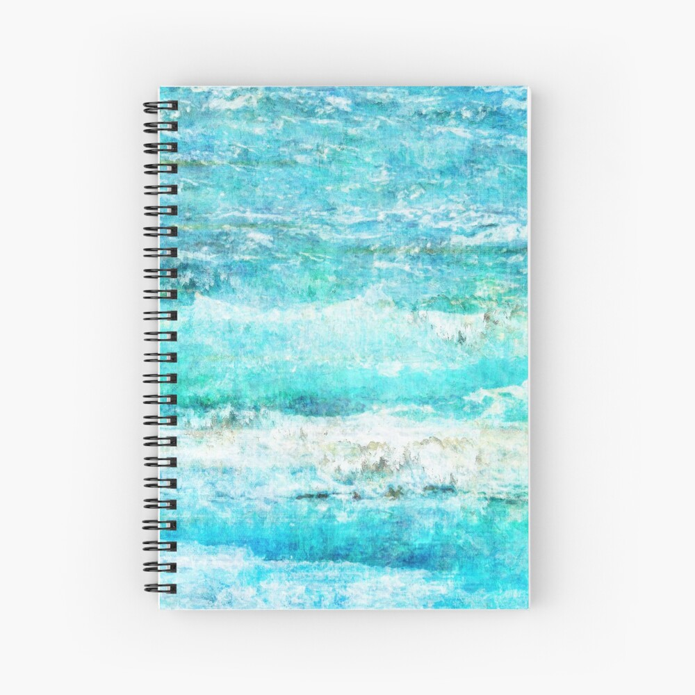Ask the Waves II Spiral Notebook