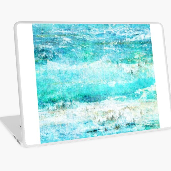 Ask the Waves II Laptop Skin