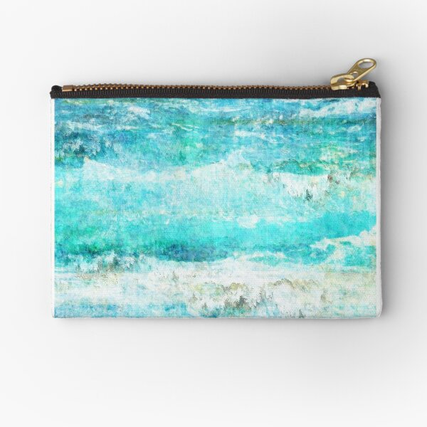 Ask the Waves II Zipper Pouch
