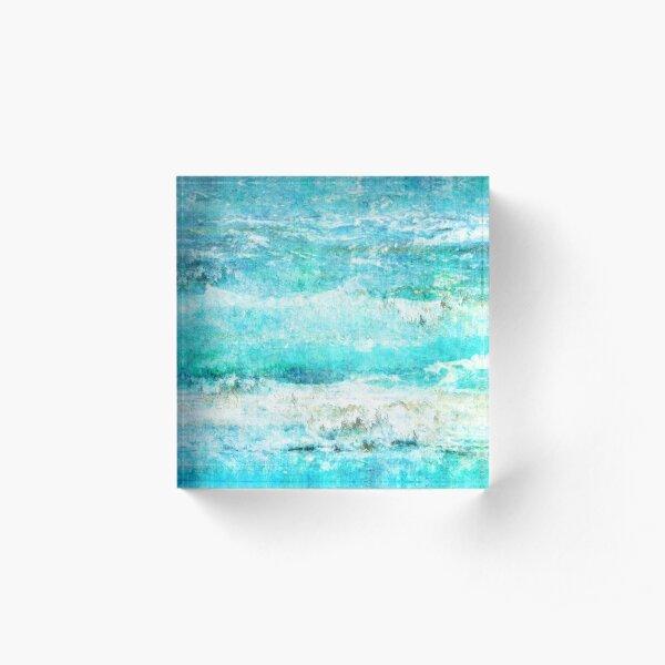 Ask the Waves II Acrylic Block