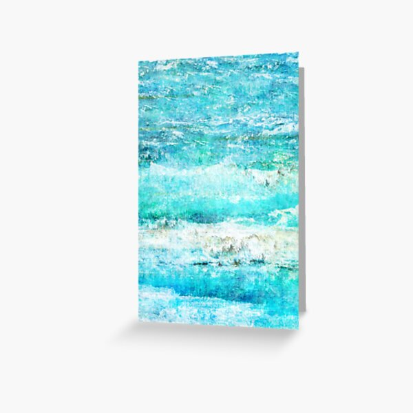 Ask the Waves II Greeting Card