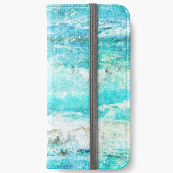 Ask the Waves II iPhone Wallet